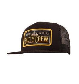 Salty Crew Salty Crew Trawler Trucker Hat Black