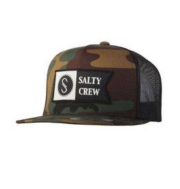 Salty Crew Salty Crew Alpha Trucker Hat Camo