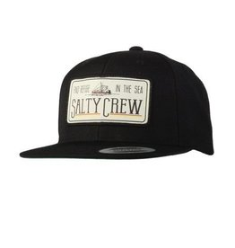 Salty Crew Salty Crew TRAWLER PATCHED HAT Black