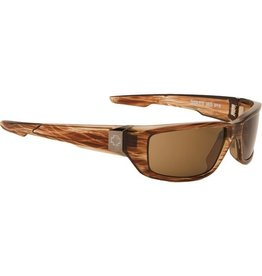 Spy Optic Spy Dirty Mo Brown Stripe Tort Happy Lens Sunglasses