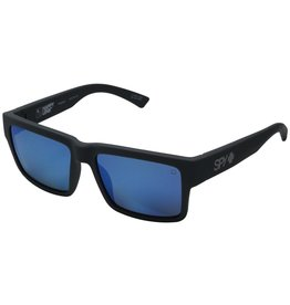 Spy Optic Spy Montana Soft Matte Black Gray Green With Blue Spectra Happy Lens Sunglasses