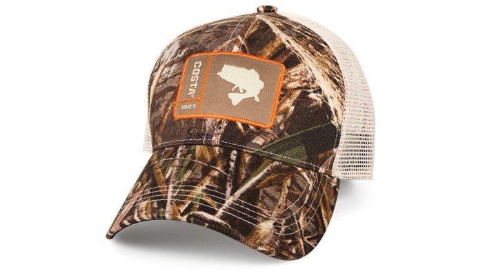 COSTA Costa Del Mar Original Patch Bass Realtree Max-5/Stone Hat