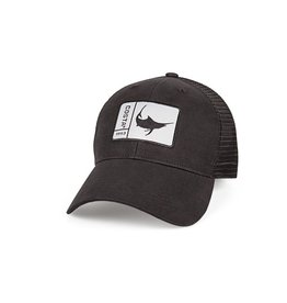 COSTA Costa Del Mar Original Patch Marlin Black/Black Hat