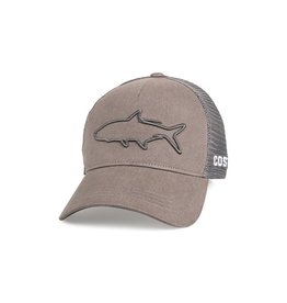 COSTA Costa Del Mar Stealth Tarpon Graphite Hat