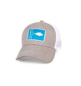 COSTA Costa Del Mar Original Patch Tuna Gray/White Hat