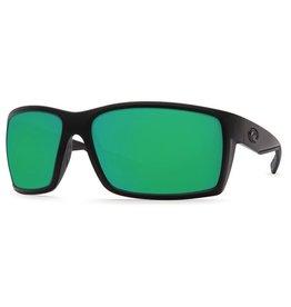 COSTA Costa Del Mar Reefton Blackout Green Mirror Glass Sunglasses