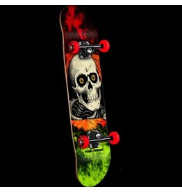 Peralta Powell Peralta Ripper Storm Red/Lime Complete Skateboard