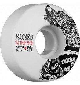 Bones Bones Rogers Wolf Street Tech 54mm V3 Skateboard Wheels