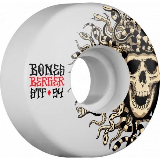 Bones Berger Medusa Street Tech 54mm V3 Skateboard Wheels