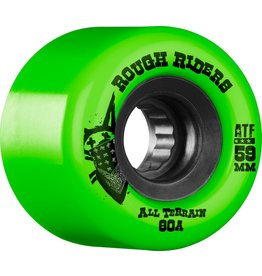 Skate One Bones Rough Riders Green 59mm Skateboard Wheels