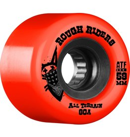 Skate One Bones Rough Riders Red 59mm Skateboard Wheels