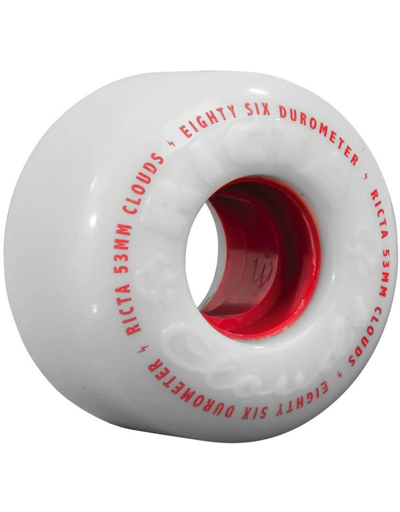 Ricta Ricta Clouds 58mm 86a Red Skateboard Wheels