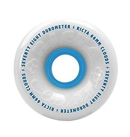 Ricta Ricta Clouds 56mm 78a White Skateboard Wheels