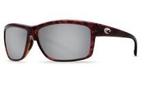 COSTA Costa Del Mar Mag Bay Tortoise Silver Mirror 580P Sunglasses
