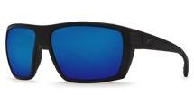 COSTA Costa Del Mar Hamlin Blackout Blue Mirror 580G Sunglasses