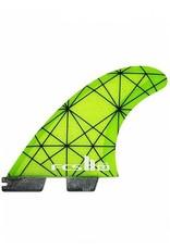 FCS FCS II KA PC Tri Set Large Thruster Surfboard Fins Kolohe Andino
