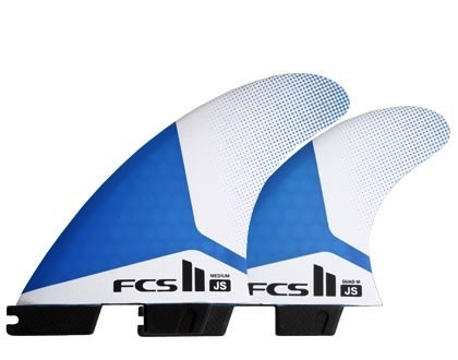 FCS FCS 2 JS PC Medium Tri-Quad Surfboard Fins