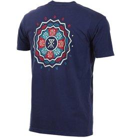 Roark Roark Geno's Mandala Navy Shirt