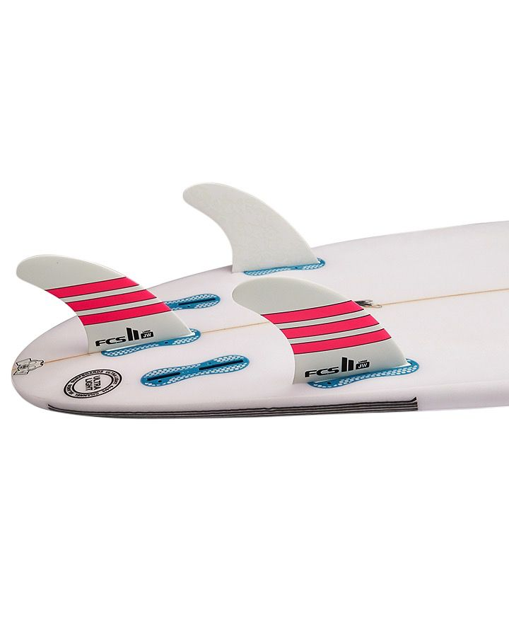 FCS FCS II JW Limited Pink Large Thruster Surfboard Fins