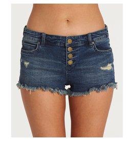 Billabong Billabong Womens Buttoned Up Denim Shorts