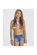 Billabong Billabong Girls Buttoned Up Denim Short