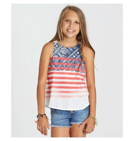Billabong Billabong Girls Paisley Flag Tank Top