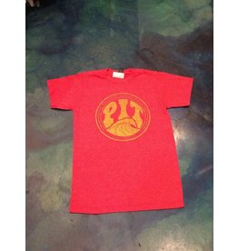 PIT Clothing Pit Surf Surf Shop T-Shirt Heather Red Fade