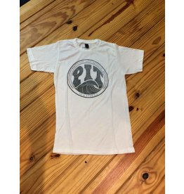 PIT Clothing Pit Surf Shop T-Shirt White Fade