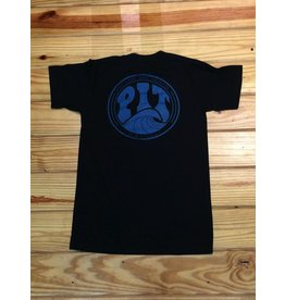 PIT Clothing Pit Surf Shop T-Shirt Teal Fade