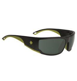 Spy Optic Spy Tackle Matte Black Olive Green Sunglasses Happy Green Polar