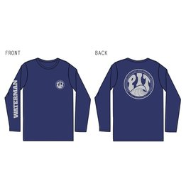 PIT Clothing Pit Surf Shop Waterman LS UV Shirt Mens