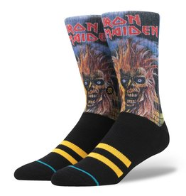 Stance Stance Iron Maiden Socks Black