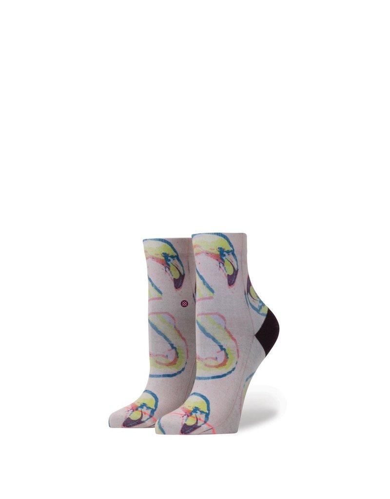 Stance Stance Bird Brain Girls Socks Pink Kids