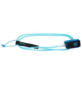 Creatures of Leaisure Creatures of Leisure Comp 6 Surfboard Leash Cyan Clear