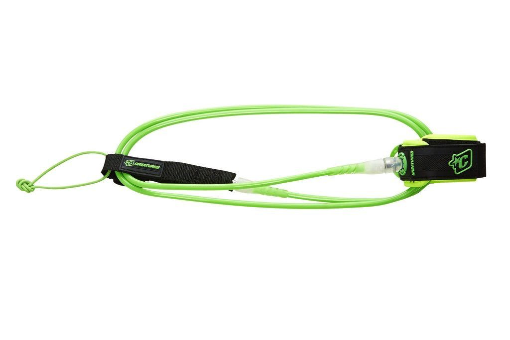 Creatures of Leaisure Creatures of Leisure Comp 6 Surfboard Leash Lime Clear