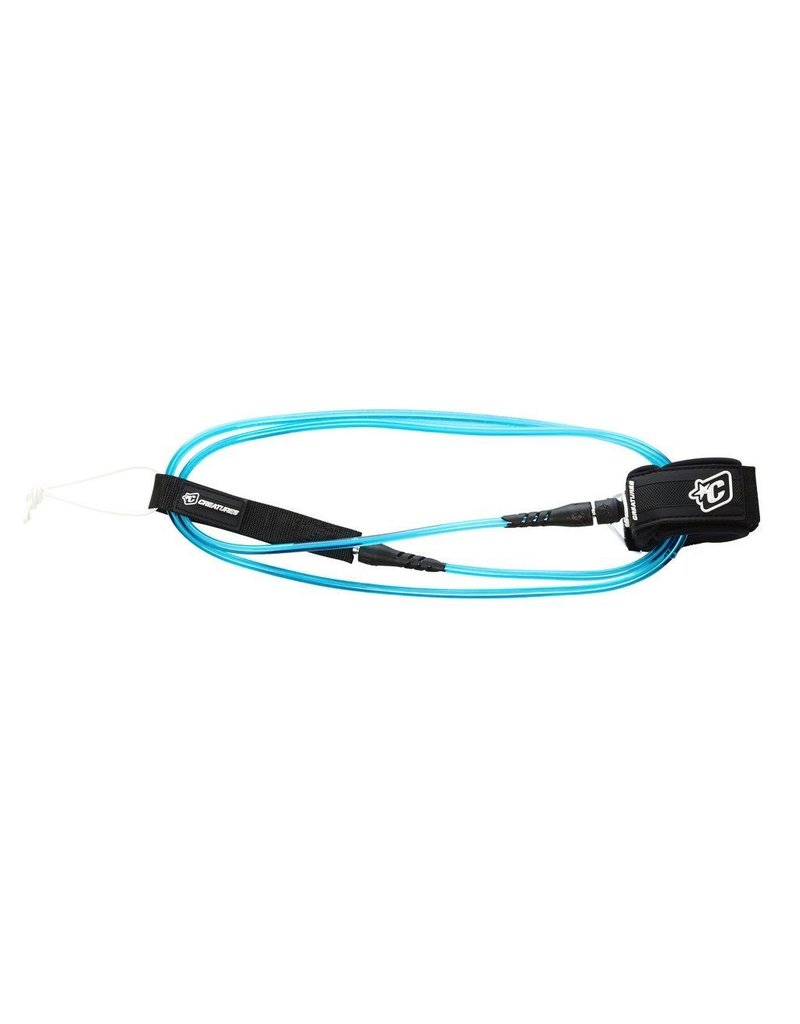 Creatures of Leaisure Creatures of Leisure Pro 6 Surfboard Leash Blue Black
