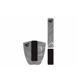 Creatures of Leaisure Creatures of Leisure Skim Traction Arch Bar Combo Black White Stripe