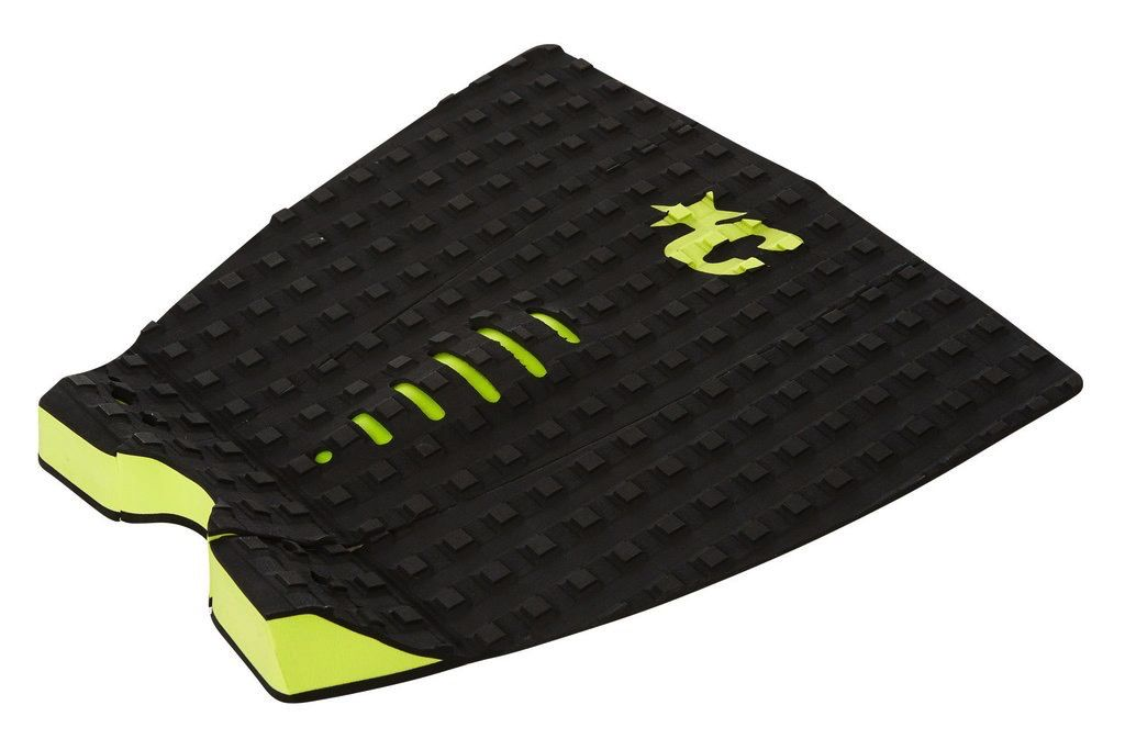 Creatures of Leaisure Creatures of Leisure Mick Eugene Fanning Black Lime Surfboard Traction Pad