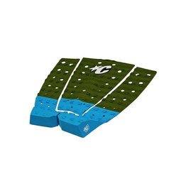 Creatures of Leaisure Creatures of Leisure Andrew Doheny Olive Cyan Surfboard Traction Pad