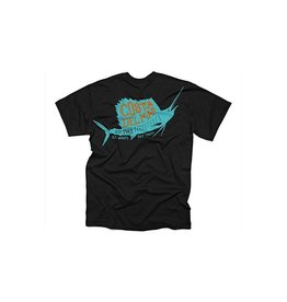 COSTA Costa Del Mar 1983 Sailfish Black Size XLarge T-Shirt Mens