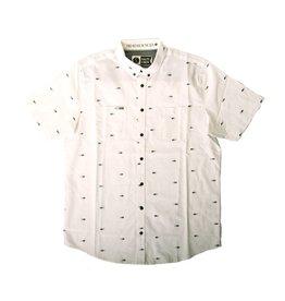 Salty Crew Salty Crew Tuna Dobby Woven Shirt SS White Large Mens