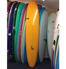 PIT Pit Surf Shop Da Boss 9'0 Orange Longboard Surfboard