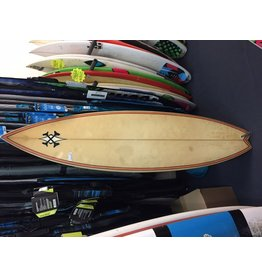 "Used Surfboards Used ""X"" Joc Johnson 6' x 18 1/4 x 2 1/4 Shortboard"