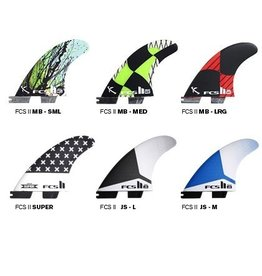 FCS FCS II Shaper Series II Replacement Tri Fins CENTER