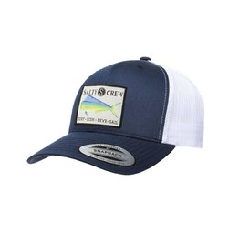 Salty Crew Salty Crew Mahi Retro Trucker Hat Navy White