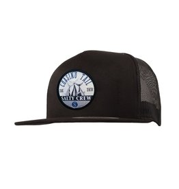 Salty Crew Salty Crew Tails Up Trucker Hat Black