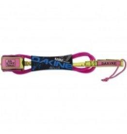 """Dakine Dakine 10'x1/4"""" Longboard Leash Pink Surfing"""