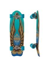 """Skate Carver 31"""" Fort Knox Aqua C7 Complete"""