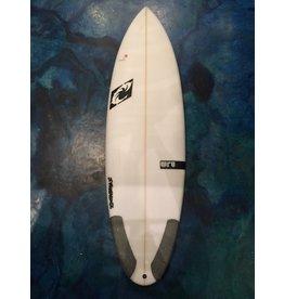 WRV WRV Nugget 5'10 x 20 x 2.42 30.27L FCS II Five Fin Surfboard
