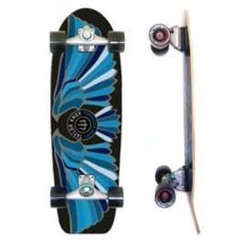 "Skate Carver Skateboards 31.25"" Fort Knox Blue C7 Complete"